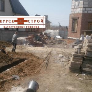 Курск, Учхоз, Бетон М250 п-3, 20 м3, фото №3, подъездной путь к точке заливки