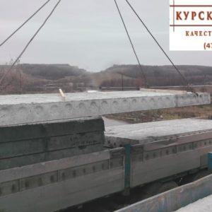 Поставка пустотной плиты перекрытия, Курск, Моква, 2-й этап, 4
