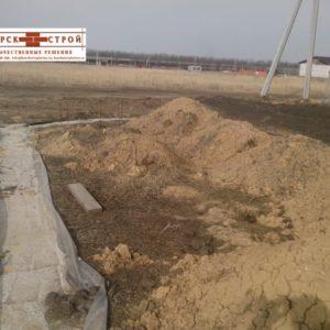 Выемка и перемещение грунта спецтехникой в Курске (2)