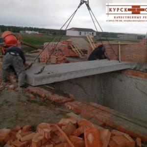 Поставка плит перекрытия для строительства дома в Курске (4)