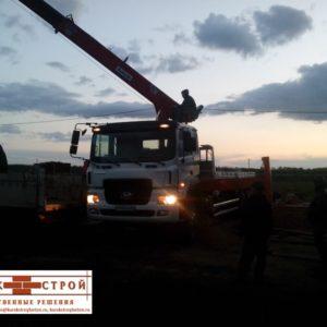 Поставка плит перекрытия для строительства дома в Курске (6)