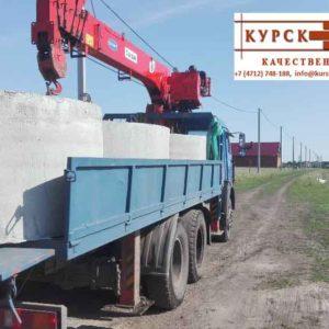 Железобетонные кольца колодца, доставка, монтаж в Курске (4)
