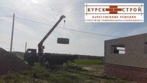 Железобетонные кольца колодца, доставка, монтаж в Курске (5)